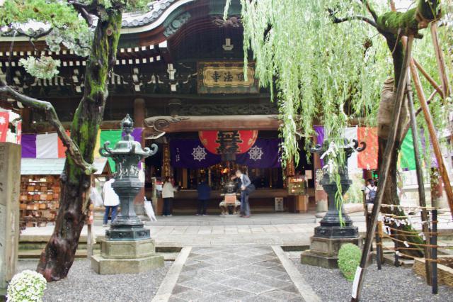 京都府頂法寺(六角堂)の本殿
