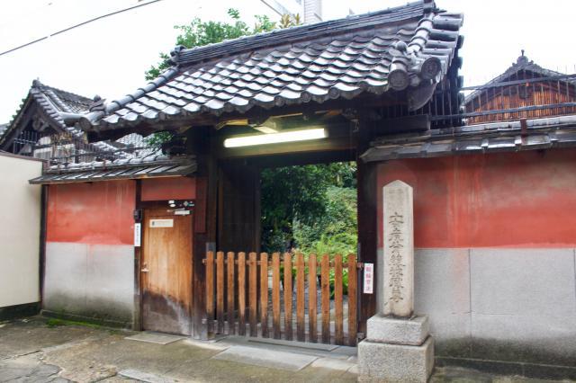 京都府透玄寺の山門