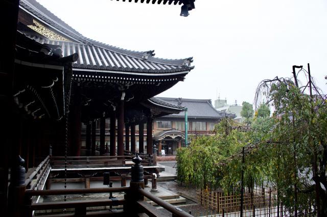 京都府佛光寺の本殿