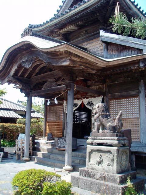 円政寺の本殿