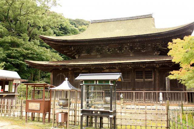 山口県功山寺の本殿