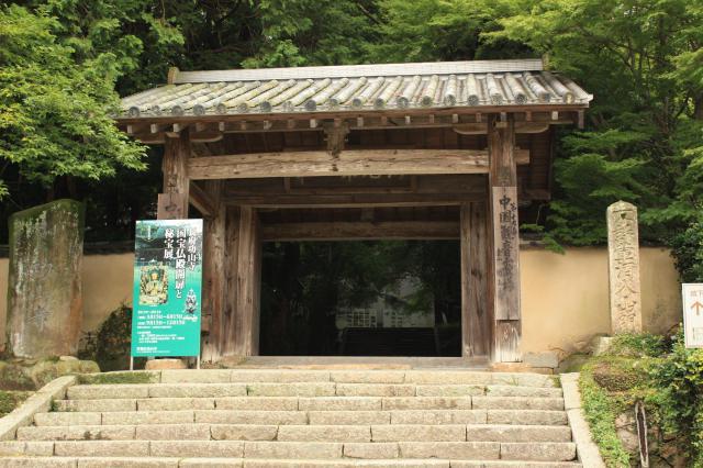 山口県功山寺の山門