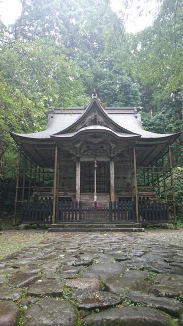 福井県平泉寺の本殿