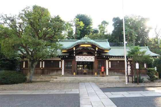 白金氷川神社(東京都白金高輪駅) - 本殿・本堂の写真