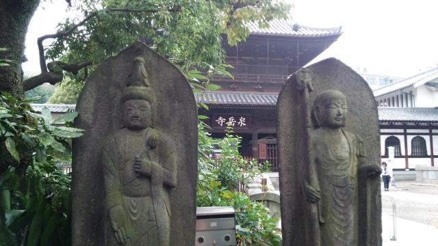 泉岳寺の地蔵