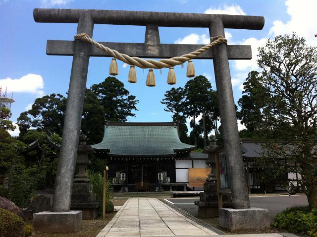 埴生神社の鳥居