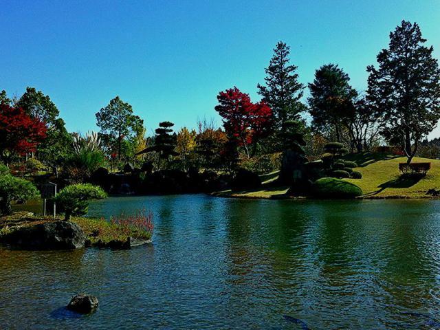 東本願寺本廟 牛久浄苑の庭園
