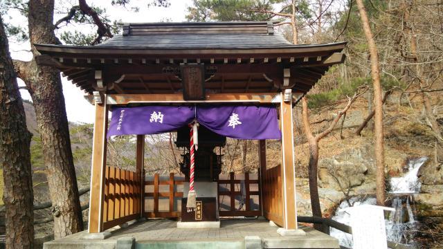栃木県五龍王神社の本殿