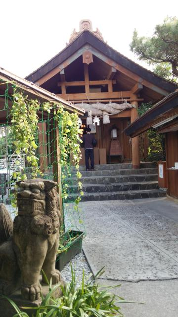 沖縄県出雲大社宮雲殿の本殿