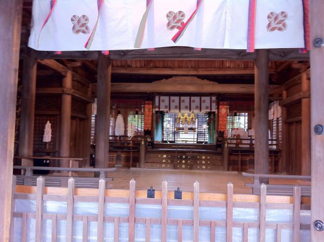 熊本県阿蘇神社の本殿