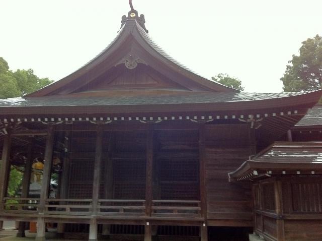 千栗八幡宮の本殿