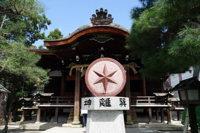 京都府大将軍八神社の本殿