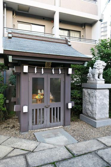 神楽坂若宮八幡神社の末社