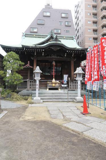 東京都千束稲荷神社の本殿