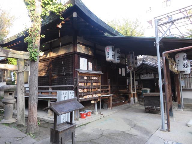 大阪府河堀稲生神社の本殿