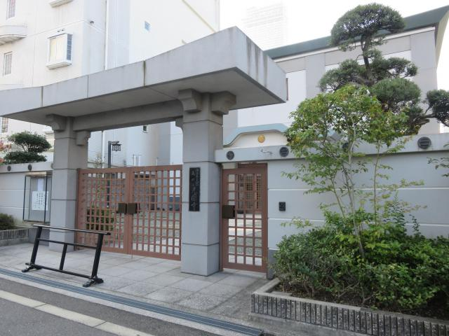 大阪府統国寺の山門