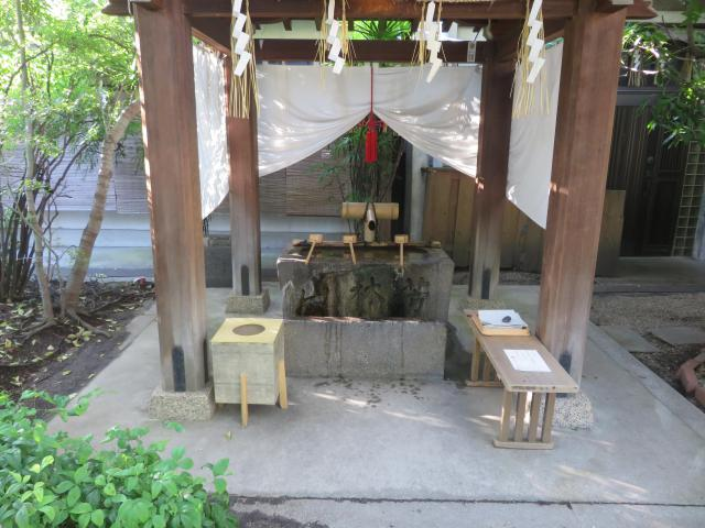 堀越神社(大阪府天王寺駅) - 手水舎の写真