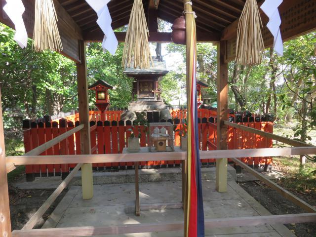 大阪府大江神社の本殿