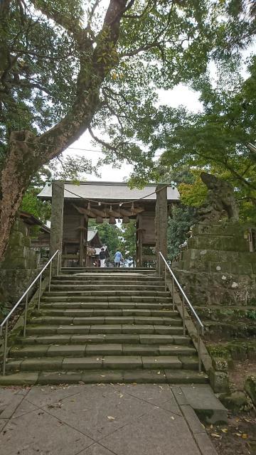 島根県揖夜神社の鳥居