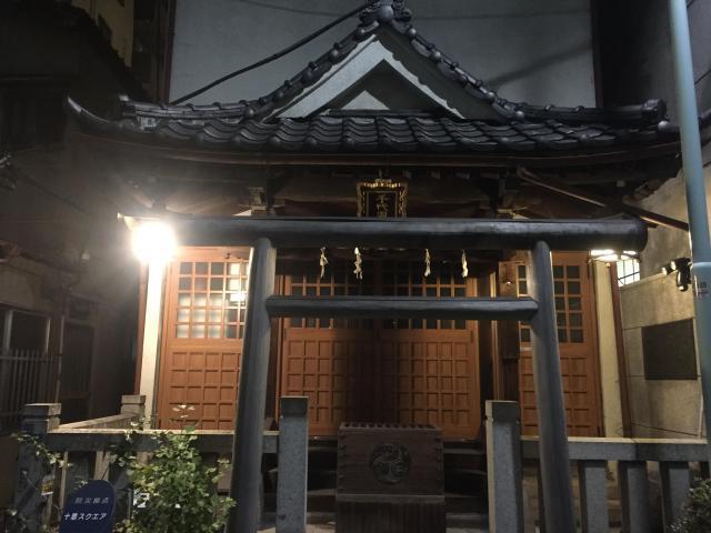 千代田神社の鳥居