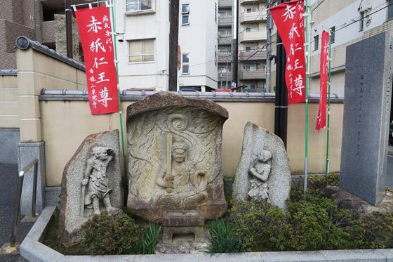 東京都東覚寺の仏像