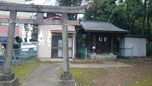 東京都関戸九頭龍神社の鳥居