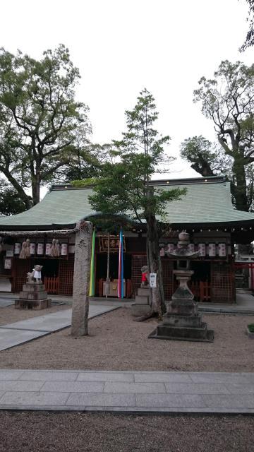 大阪府布忍神社の本殿