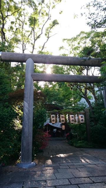 堀越神社(大阪府天王寺駅) - 鳥居の写真