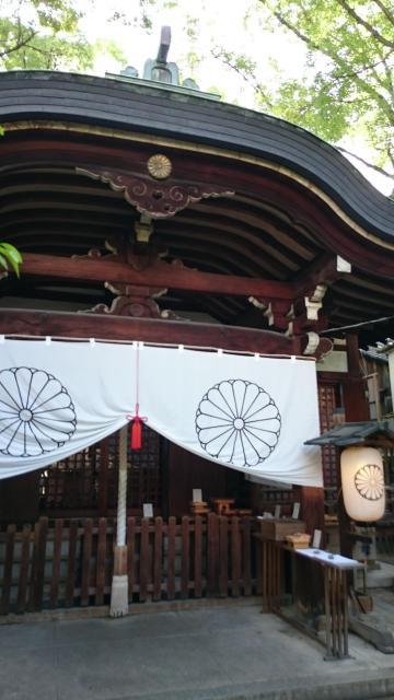大阪府堀越神社の本殿