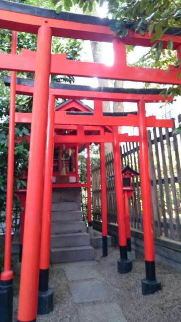 大阪府堀越神社の鳥居