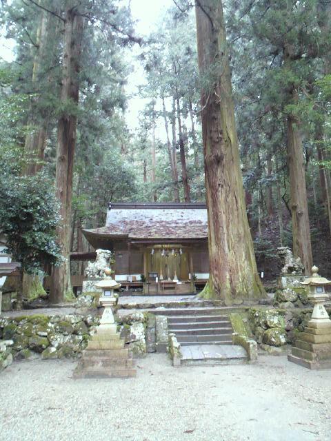 奈良県室生龍穴神社の本殿