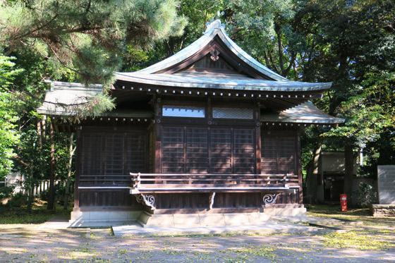 東京都石神井氷川神社の本殿
