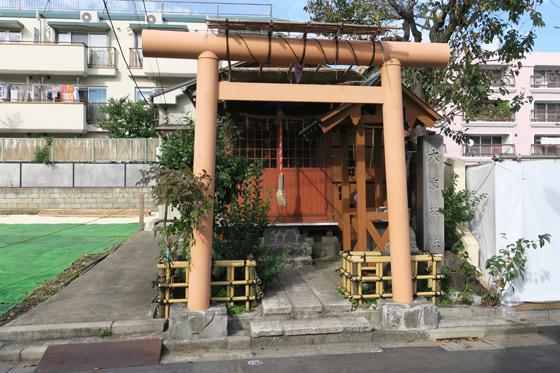 東京都大京神社の鳥居