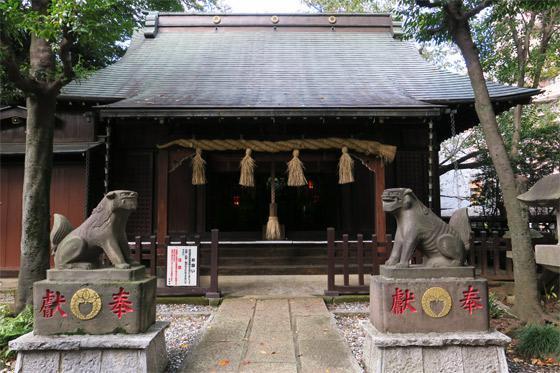 東京都多武峯内藤神社の本殿