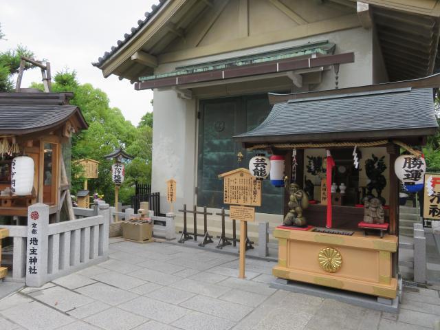 地主神社の建物その他