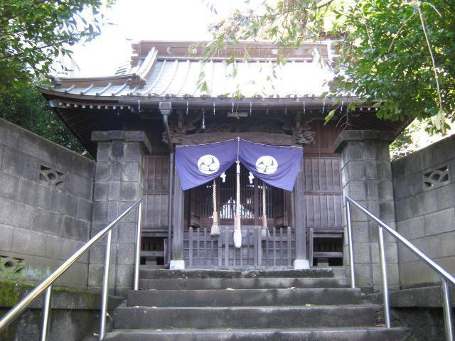 神奈川県八幡社の本殿