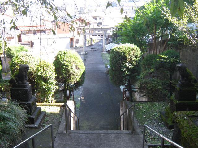 八幡社の景色
