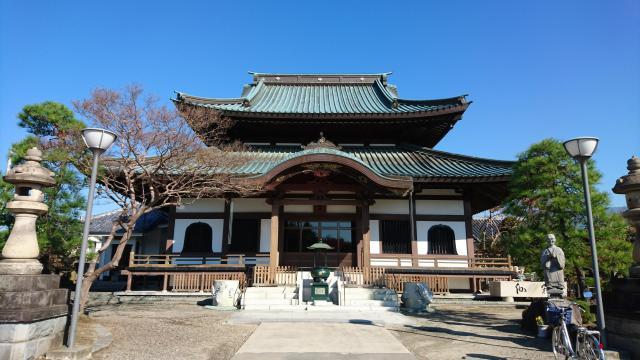 一蓮寺の本殿
