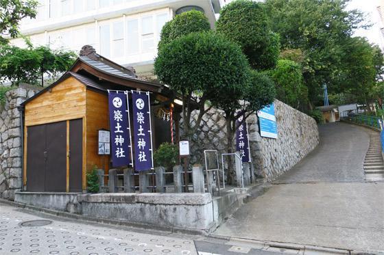 船河原町築土神社(築土神社境外摂社)の本殿