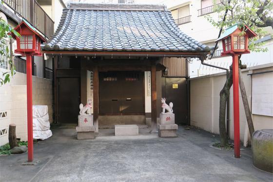 東京都稲荷神社の本殿