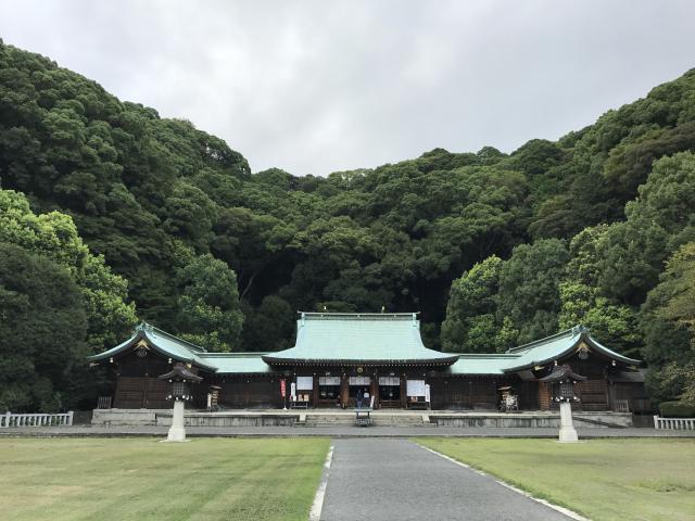 静岡県静岡県護国神社の本殿