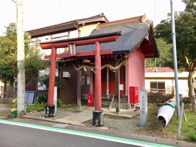 兵庫県幸稲荷神社の本殿