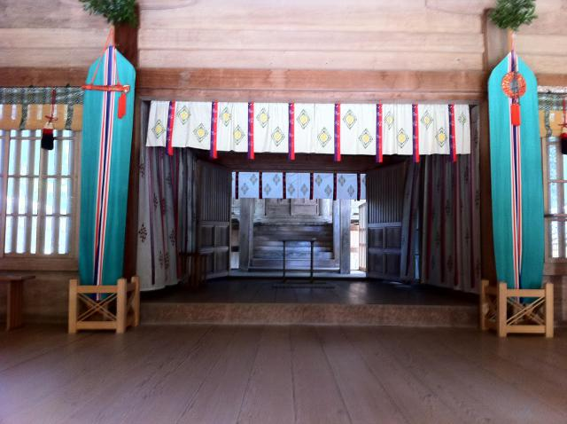 鳥取県倭文神社の本殿