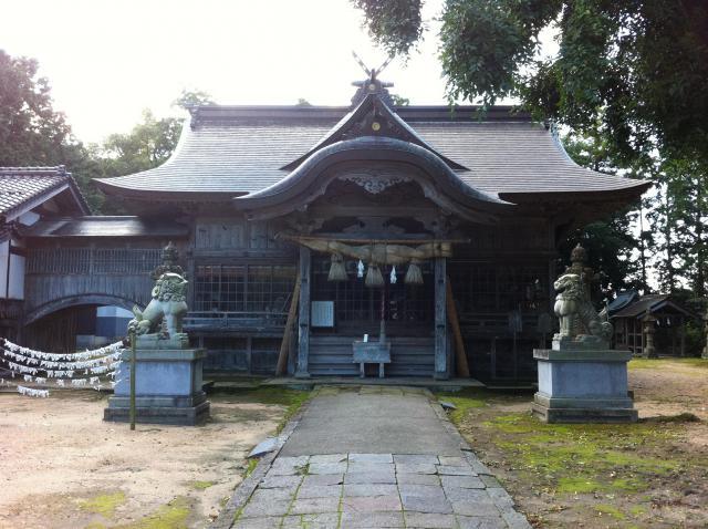鳥取県大神山神社本宮の本殿
