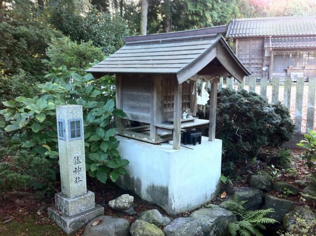 鳥取県大神山神社本宮の末社
