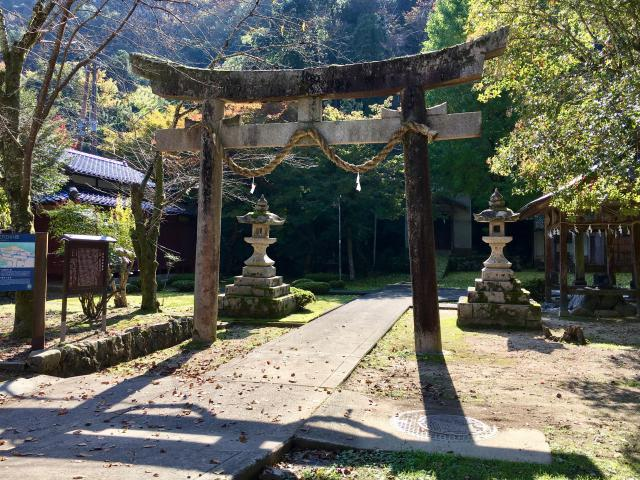 兵庫県諸杉神社の本殿