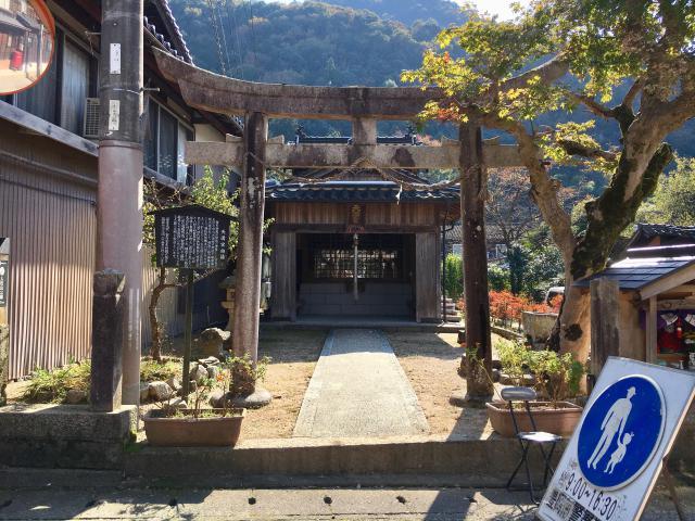 兵庫県天神社の本殿