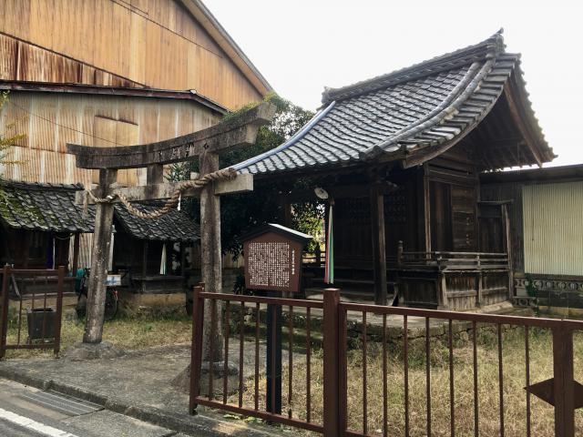 兵庫県水天宮社の本殿