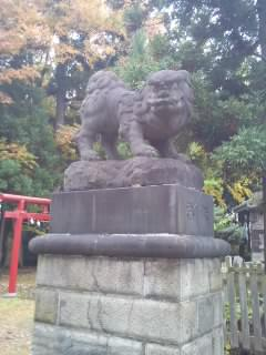 青森県浪岡八幡宮の狛犬