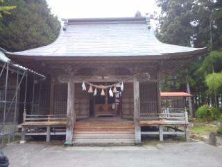 青森県浪岡八幡宮の建物その他